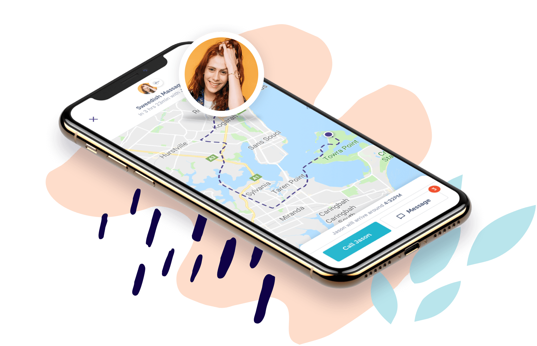 Blys massage app uber for massage